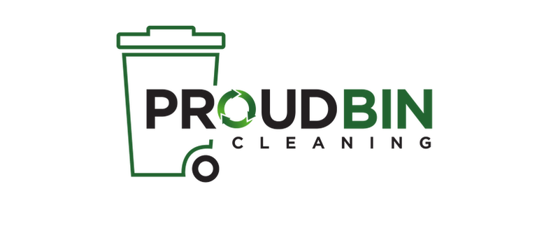 Proud Bin Cleaning Logo, Waste, Bin, Cleaning, Services.